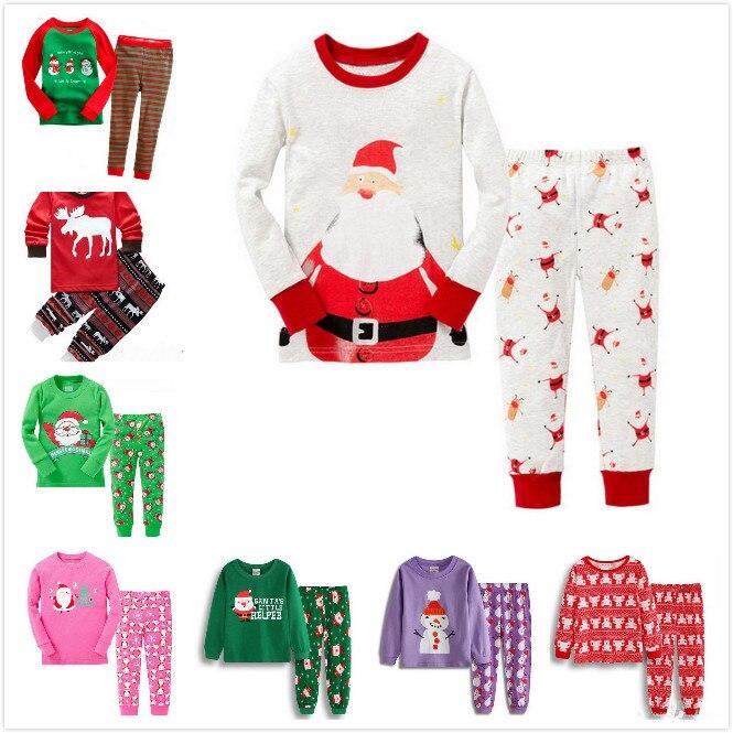 aa39eb6e88 Detail Feedback Questions about A%A 47 Baby Girl Boy Christmas Santa Claus  Deer Nightwear Pyjamas Set Sleepwear Outfits Children Autumn Winter Xmas  Clothes ...