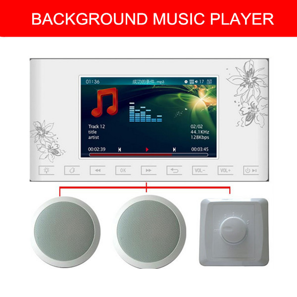 Wall Music Background Music System Controller 2 Ceiling