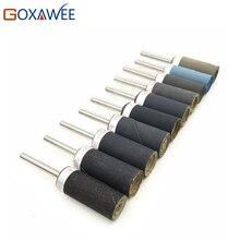 GOXAWEE 10pcs Abrasive Paper Abrasive Tool Sanding Belt Paper for Dremel Rotary Tools Abrasive Tool Sandpaper Grinding Polishing