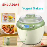 SNJ A20A1 220 240V High Quality Yogurt Makers Thermoregulator Multifunction Kitchen Appliance Yogurt 20W yogurt, rice wine, wine