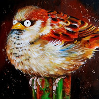 Colorful Bird 3D Diy Diamond Painting Canvas Pattern Cross Stitch Diamond Embroidery Square Rhinestone Mosaic Pasted