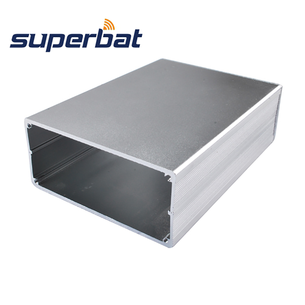 1.44″*3.15″*4.33″ Instrument Silver Extruded Aluminum Enclosure Electronics Project Box Case for DIY PCB Amplifier 36.5x80x110mm