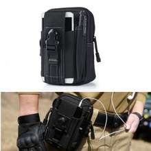 Tactical Molle bag Pouch Belt Waist Packs Bag Pocket Military Waist Fanny Pack Pocket for Iphone