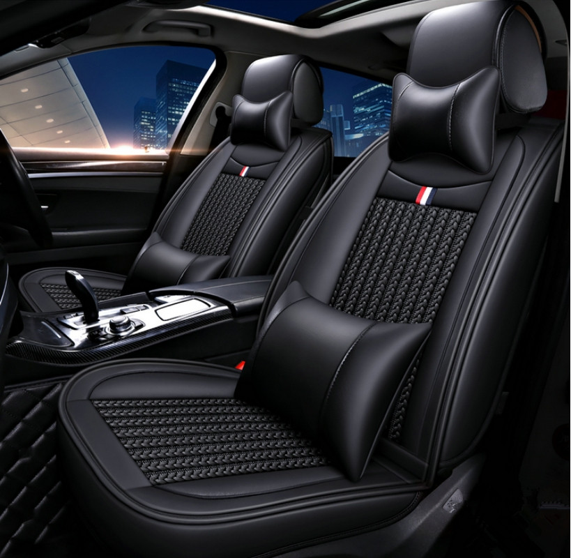 Top quality! Full set car seat covers for Skoda Karoq 2019 comfortable breathable seat covers for Karoq 2018,Free shipping(China)