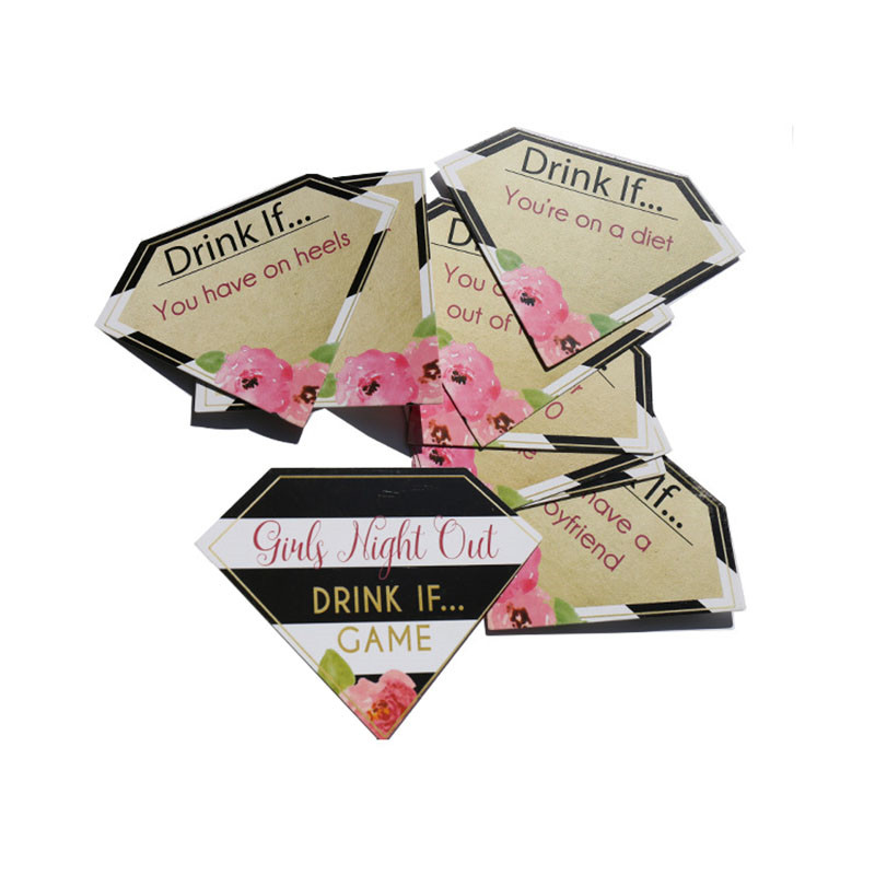 Image 5 - Team Bride Hen Party Girls Night Out Game Cards Bachelorette Party Drinking Dare Cards Wedding Bride To Be Party Decoration-in Party DIY Decorations from Home & Garden