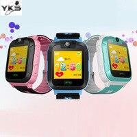Kinderen Speelgoed Walkie Talkies Smart horloge 1.4 Inch Touchscreen 3G stappenteller SIM Real Time Tracking GPS Polshorloge voor Kinderen Gift