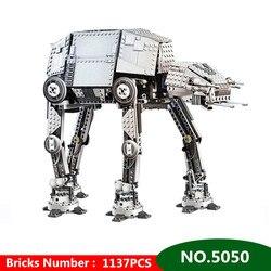 Star Wars AT-AT Robot Giocattolo Elettrico A Distanza Modello di Controllo Fai Da Te Building Blocks Giocattoli Dei Mattoni Per I Bambini Bambini regalo