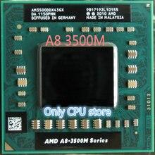 Четырехъядерный процессор AMD A8-3500M 1,5 ГГц разъем FS1 A8 3500 м AM3500DDX43GX A8-Series ноутбук APU ноутбук s ноутбук