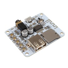High speed Micro USB 2x3W Bluetooth Audio Receiver Digital Amplifier Amp Board For Speakers