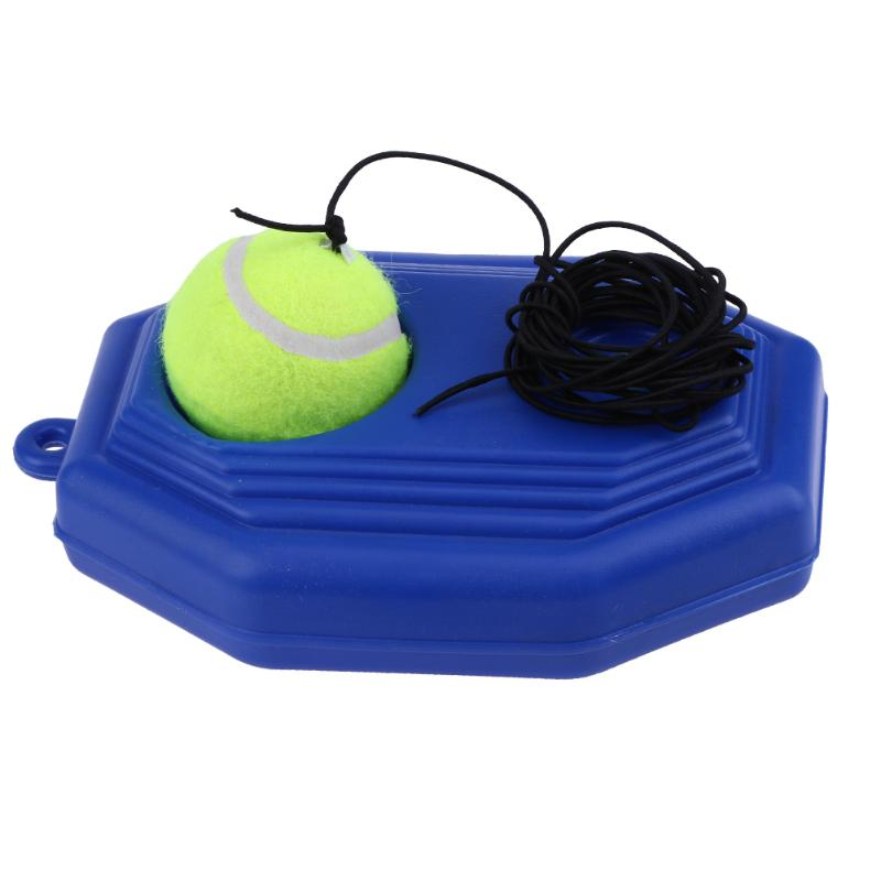 Single Tennis Trainer Self-study Tennis String Training Tool Exercise Baseboard Sparring Device