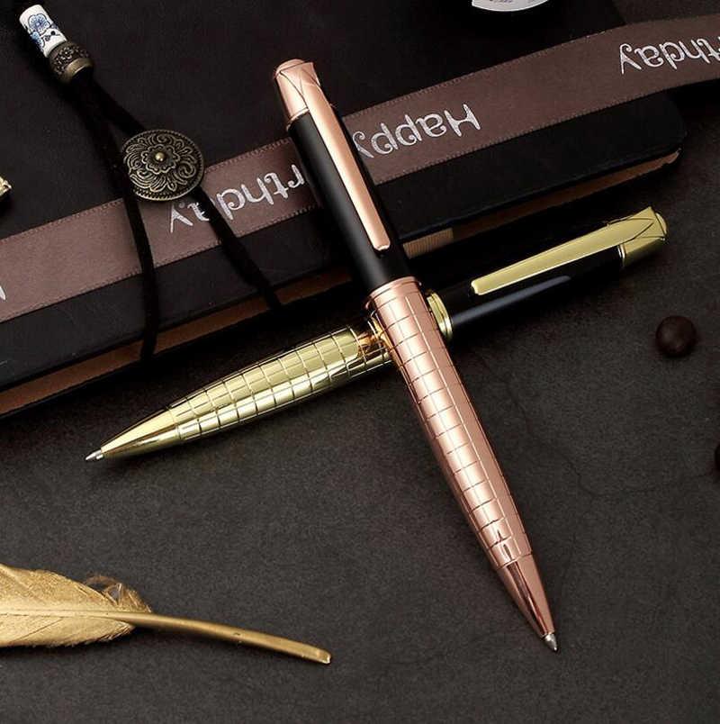 Бесплатная доставка Горячая продажа Sonnet Роскошная Шариковая ручка для бизнеса хорошее качество металлическая ручка для подписи купить 2 ручки отправить подарок