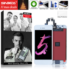 Best Price For iPhone 5c LCD Display Touch Screen Digitizer Assembly Replacement IPHONE5 5C Mobile Phone No Dead Pixel