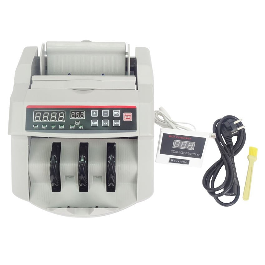 Bill Counter, 110V / 220V, Money Counter ,Suitable for EURO US DOLLAR etc. Multi-Currency Compatible Cash Counting Machine ru us aibecy multi currency cash banknote money bill automatic counter counting machine lcd display for euro us dollar aud pound