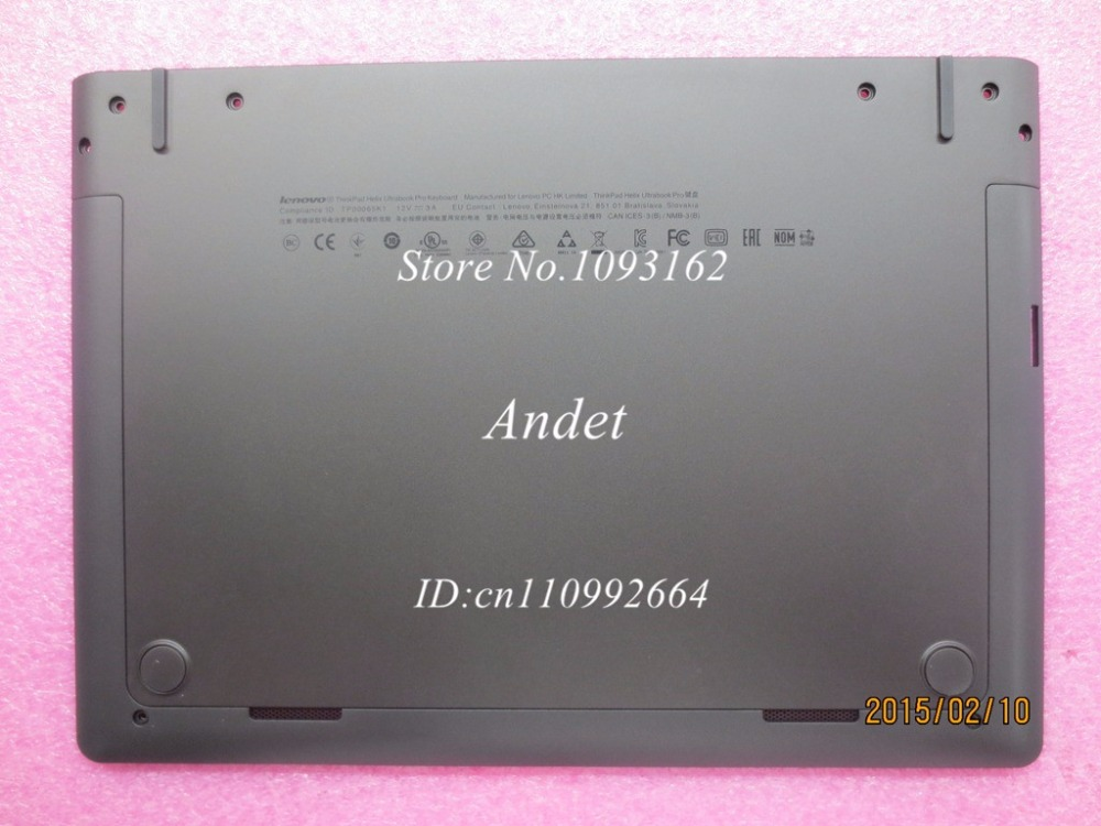New Original for Lenovo ThinkPad X1 Helix Gen 2 20CG 20CH Bottom Base Cover Lower Case 00JT558 new original lenovo thinkpad edge e320 e325 base bottom case cover laptop replace cover