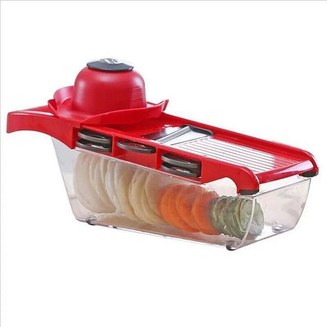 Multifunction Manual Vegetable Slicer and Grater