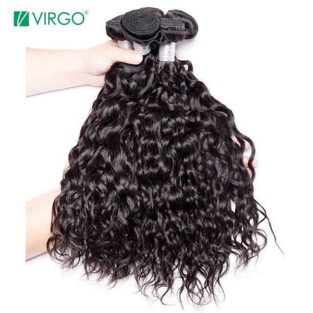 Human Hair Weave Bundles Malaysian Water Wave Hair Bundles 1 3 Pcs