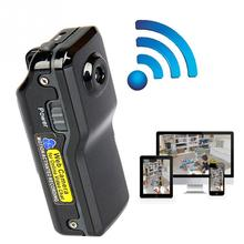 Новый мини Wi-Fi Беспроводной IP Камера HD MD81 видеокамера Запись Видео Wi-Fi HD карман размер пульта дистанционного управления по телефону Портативный