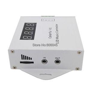 Image 3 - Controlador remoto de música LED X1 DC5 24V, Control táctil inalámbrico por RF, atenuador para tira LED, sueño mágico a todo Color