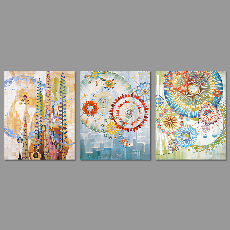 Aliexpress.com : Buy 3 Pieces Modern Round Pattern ...
