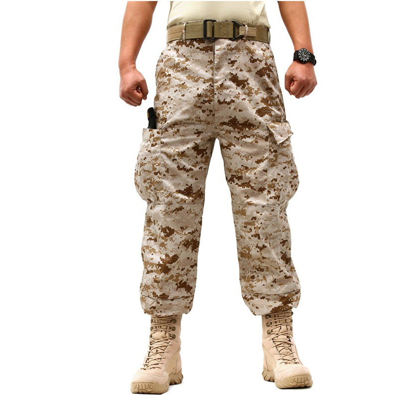 Tactical Pants Military Cargo Pants Men Army Soldiers Hunter Paintball Combat Trouser Working CS Jungle Python Camouflage Pants