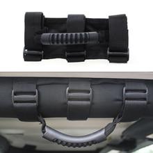 """1 шт. черный автомобиль грузовик внутренняя крыша ручка рулон бар рукоятка для Jeep Wrangler CJ YJ TJ JK Bronco FJ ручка крыши 2-"""" рулон клетки"""