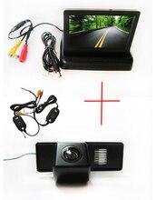 Беспроводной цветной CCD чип вид сзади автомобиля камера для Mercedes Benz Vito / Viano + 4.3 дюймов складной LCD TFT монитор