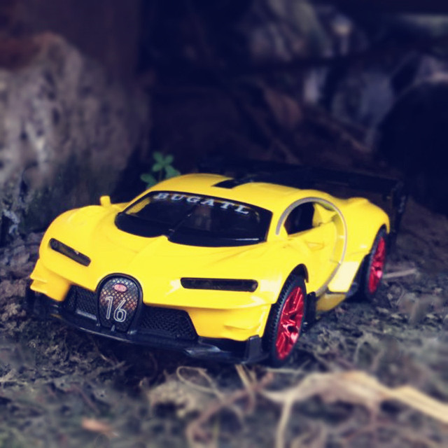 132 metal car models kids toys bugatti gt children like the gift decoration music