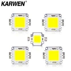 KARWEN реального Мощность 10 W 20 W 30 W 50 W интегрированный в COB Светодиодная лампа DC 30-32 V для DIY прожектор лампы светодиодный бусины из каменной