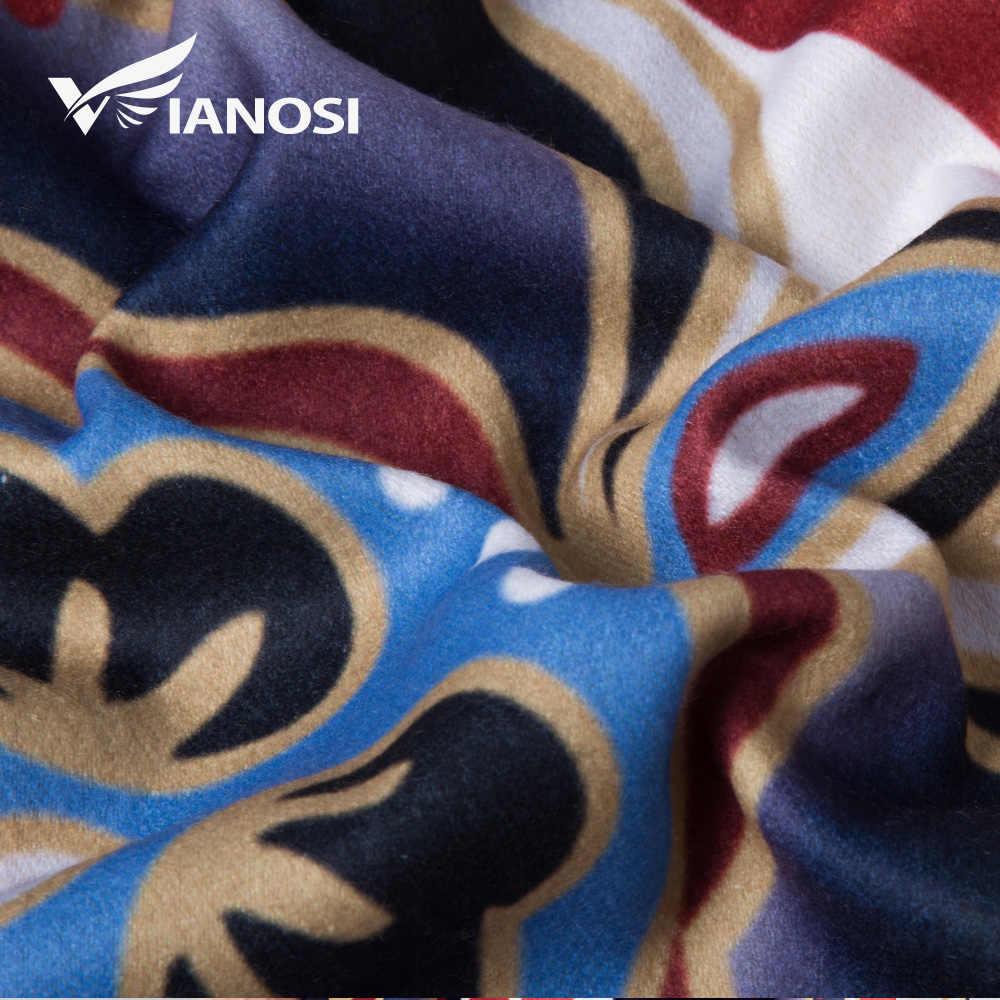[VIANOSI] Inverno Cachecol de Lã Cachecóis Mulheres Xaile Quente Alta Qualidade Engrossar Luxo Cachecol Hijab Bandana Foulard Femme