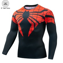 2019 Newest Comics Long Sleeve Tops For Male Fitness Superior Spider-Man Cosplay Unisex 3D Printed T-shirt Compression Shirt superior spider man vol 4 necessary evil