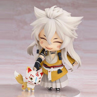 Cute Nendoroid Touken Ranbu Online kogitsunemaru Figure PVC Collection Model Gift Toy With Box 10cm