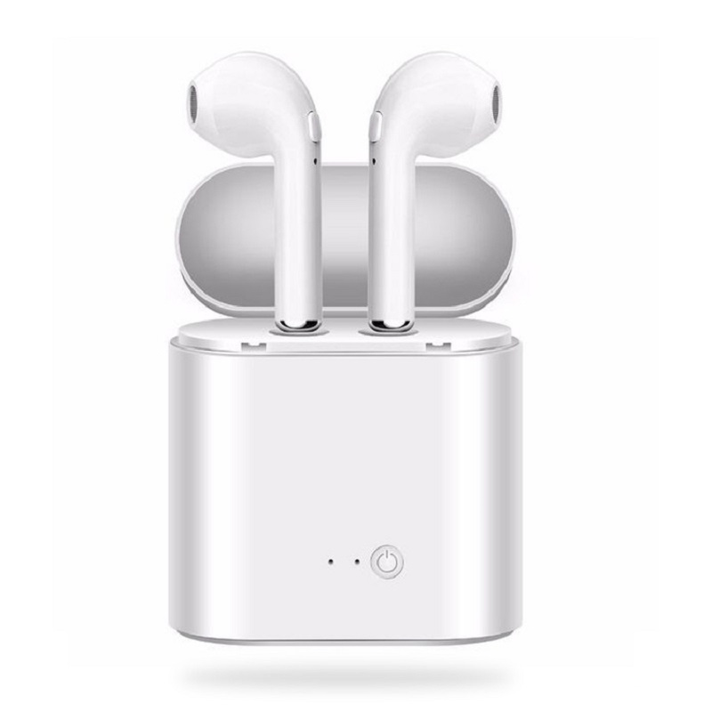 I7S TWS Mini Bluetooth Headphones With Charging Box Wireless Earphone Sports Headphone Stereo Earbuds Headsets for Ipads IPhones
