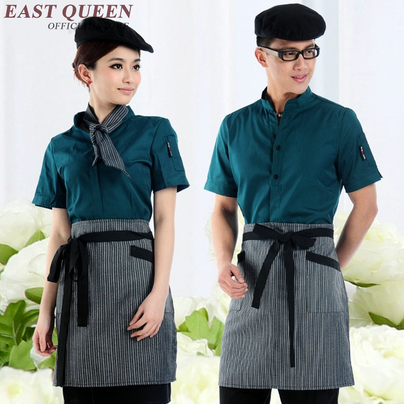 Restaurant waitress uniforms women men