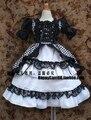 Бжд / SD куклы / детская одежда принцесса и белый решетки платье для 1/4 1/3 Bjd куклы