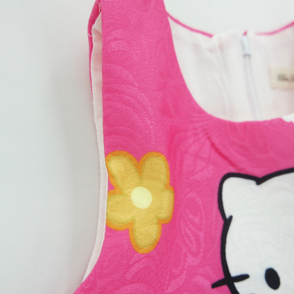 Otoño bebé Niñas vestido loving Cartoon Hello Kitty vestido Navidad ...