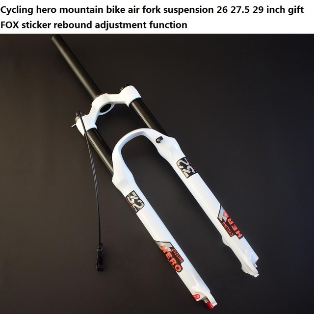 Travel 100-120MM 32mm Mountain Bike Air Front fork MTB suspension bicycle plug 26 27.5 29 Performance beyond SR SUNTOUR SID FOX
