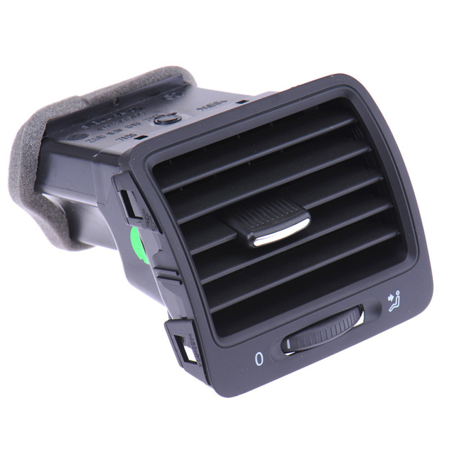 Car Accessories Left Side Front Dash Air Outlet Vent For VW Jetta Golf GTI Rabbit MK5 MKV 5 Drop Shipping