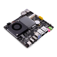 QOTOM Nano ITX Motherboard Q3215UG2 H 12 x 13cm 2 LAN, 4 USB, 2 display ports, 4 COM Port