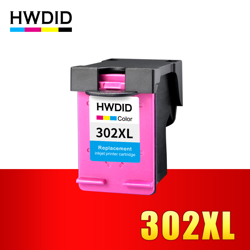 HWDID Color 302xl  Refilled ink cartridge Replacement for hp 302 xl for Deskjet 3630 2130 2131 2135 1110 ENVY 4520 4522 printersHWDID Color 302xl  Refilled ink cartridge Replacement for hp 302 xl for Deskjet 3630 2130 2131 2135 1110 ENVY 4520 4522 printers