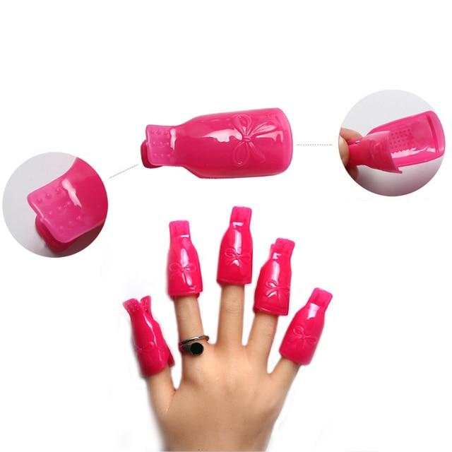 Free shipping 50bag Fashion Rose Wearable Nail Soak Soaker Polish ...