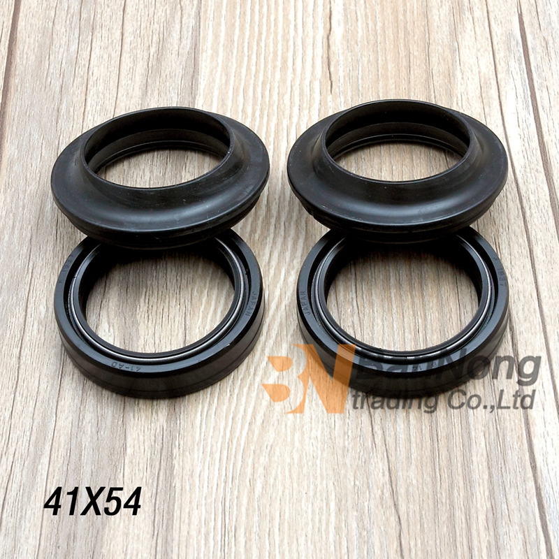 41*54*11 Motorcycle Front Fork Damper oil seal For Honda CB-1 CB400 SF VFR400 NC30 CBR400 NC23 29 CB750 CB750 Hornet Magna 250 motorcycle front shock fork brace balance device clamp bracket wheel damper for honda cb400 92 98 nsr250 p3 cb250