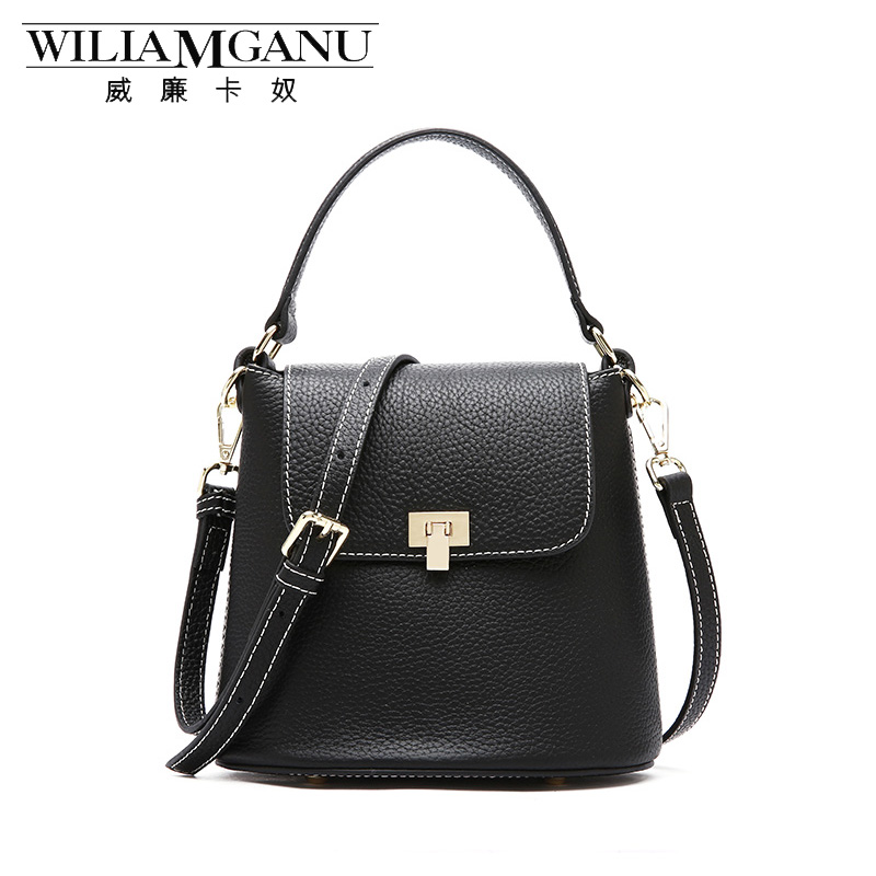 WILIAMGANU 2018 Famous Brands Women Handbags Genuine Leather Bags Ladies Designer Shoulder Bag European and American Styly 2017the mostfashion trends european and american brands genuine flowers ladies luxury short shoes club sexy women s shoes
