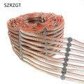 50-100 PCS WS2812B Led-modul String Panel Pre-gelötet auf Kühlkörper mit 10 CM Draht 5 V WS2812 Eingebaute SMD5050 RGB Idividually