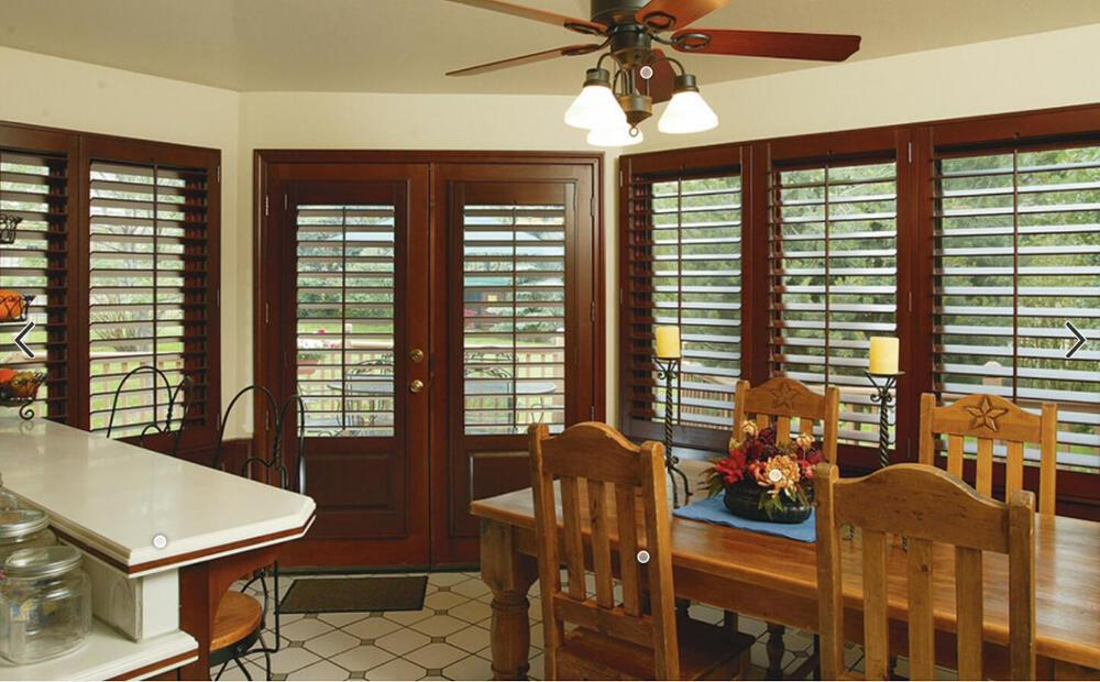 High Quality Customized Wood Shutters Window Blind