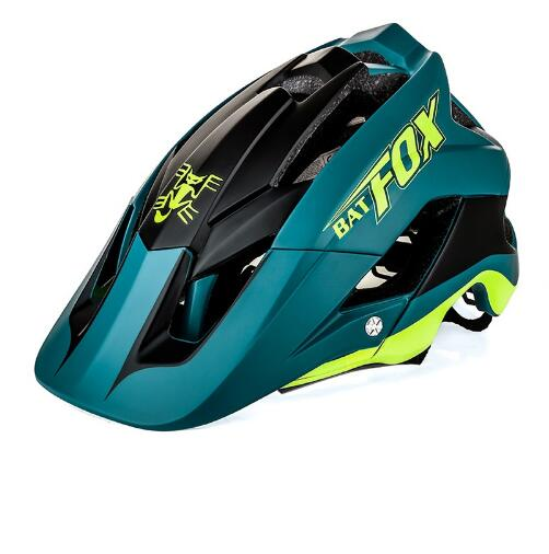 Bike Helmet Overall Bat-Fox Casco-Ciclismo Ultra-Light Molding DH Mtb 7-Colour High-Quality