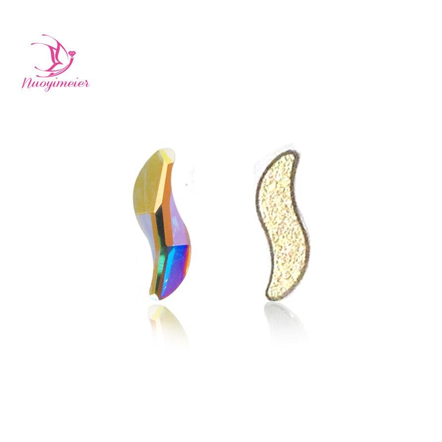 36pcs A2569 2x9mm Crystal Bling Nail Art Fashion
