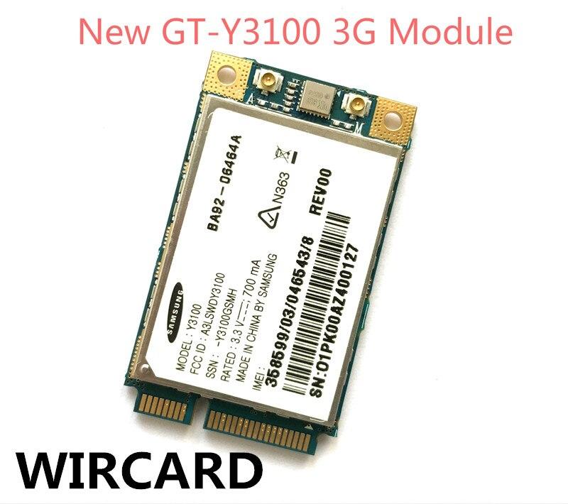 NEW Unlock GT-Y3100 Y3100 3G MODEM  FROM NC10 LAPTOP UMTS HSDPA mini PCI Express WCDMA 3G Card