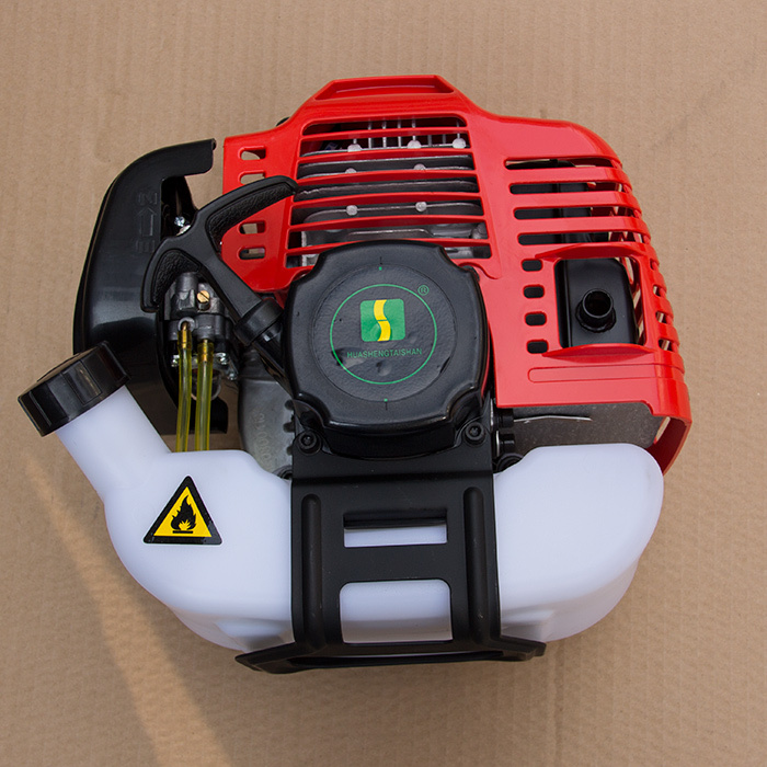 ФОТО High quality 40-5 43CC engine, 2 stroke engine,2 stroke Gasoline engine brush cutter engine 42.7cc 1.5kw CE Approved