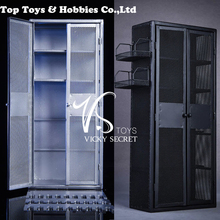 VSTOYS 18XG34 1/6 Scale Figure Scene Accessories soldier Metal weapon cabinet Locker for 12 inches action figure doll