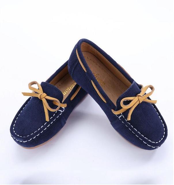83e30c4042c Nuevos niños ocasionales Zapatos niños verano Mocasines primavera otoño  Niñas y Niños Zapatos para barco solo